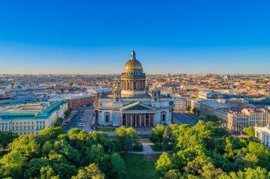 Saint-Petersburg. Russia. City panorama of St. Petersburg. Isaak