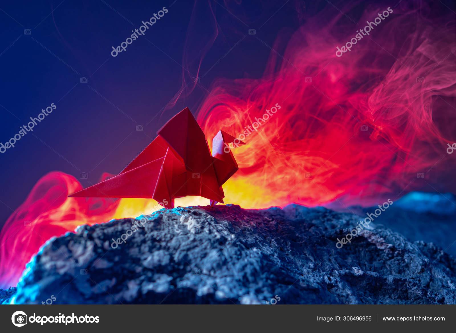 3d Scanner Image: 3d Origami Dragon   1167x1600