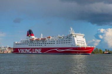 Helsinki. Finland Cruise ship