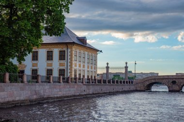 Saint Petersburg. Russia. Summer Palace of Peter the Great. The