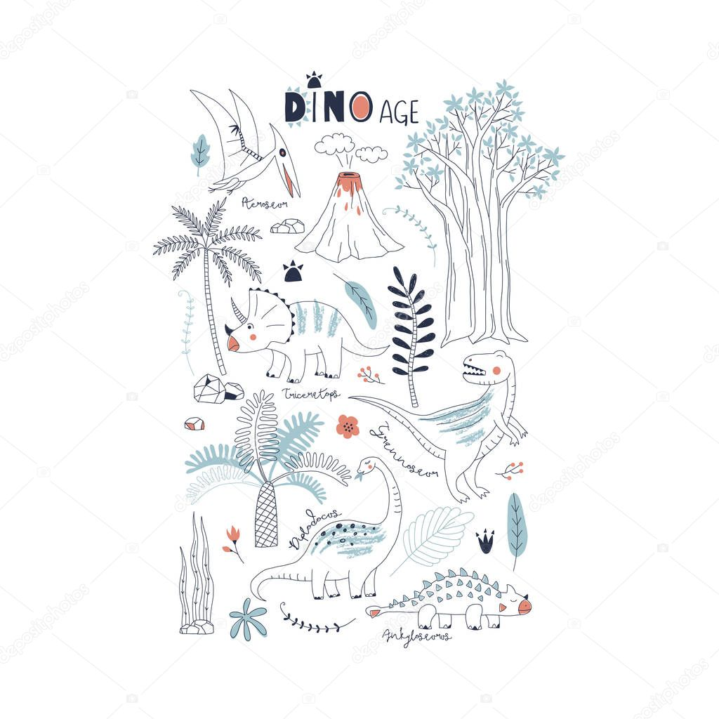 Dino collection for kids