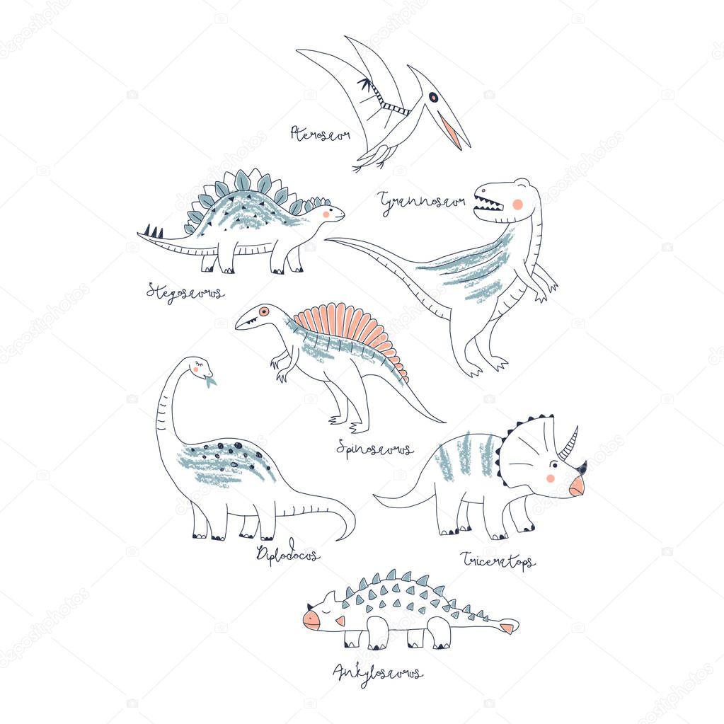 Dino prints for kids