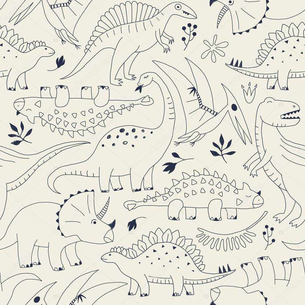 tropical leaves and flowers patterns for kids