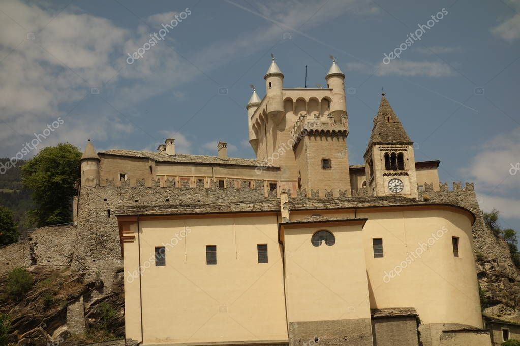 Saint-Pierre Castle, Aosta Valley, Italy