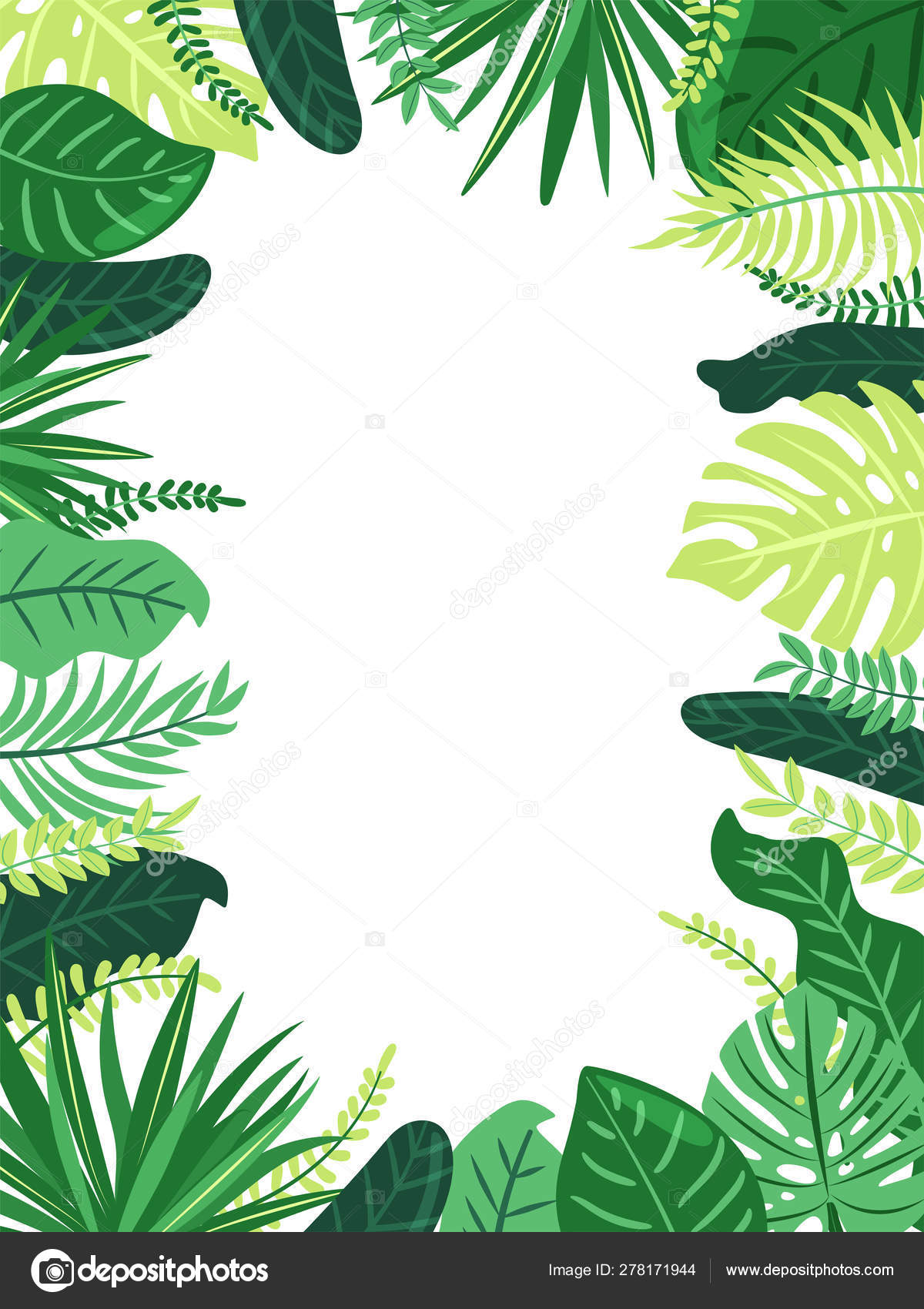 Frame Of Tropical Leaves Illustration With Foliage Of Exotic Jungle Plants Stock Vector C Cocoart Ua 278171944 Download transparent tropical leaves png for free on pngkey.com. frame of tropical leaves illustration with foliage of exotic jungle plants stock vector c cocoart ua 278171944