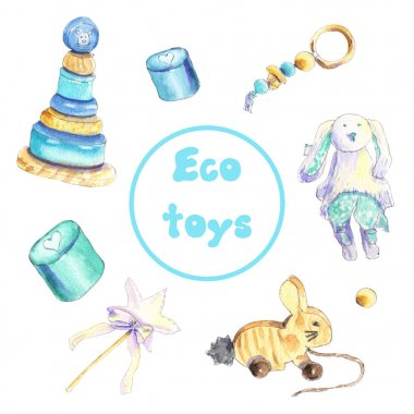 Eco wooden toys