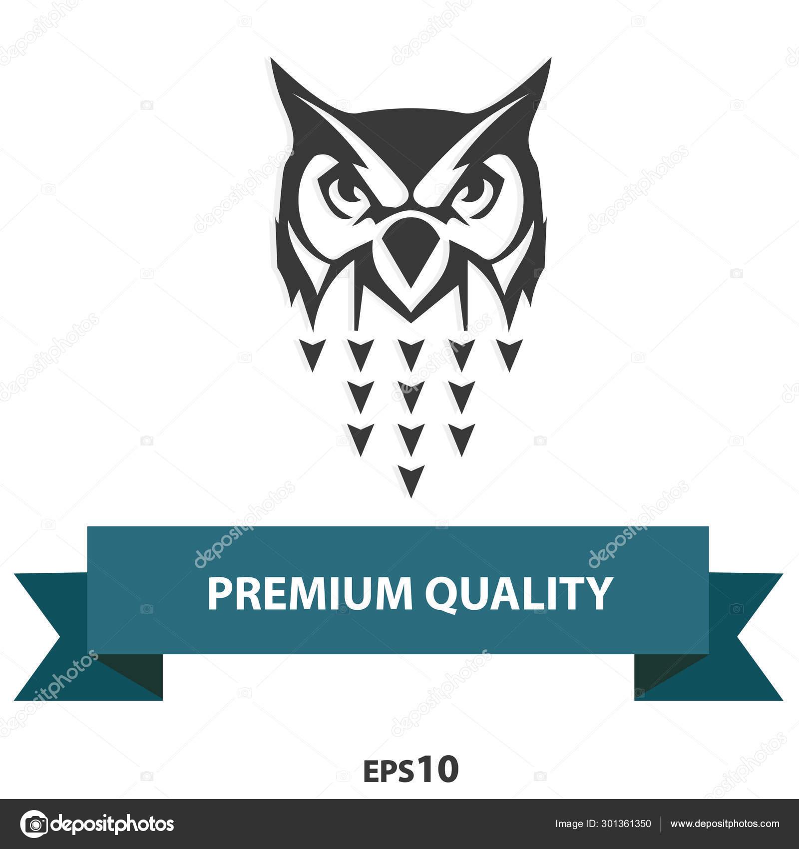 Owl Logo Symbol Wisdom Also Darkness Death Having Attribute