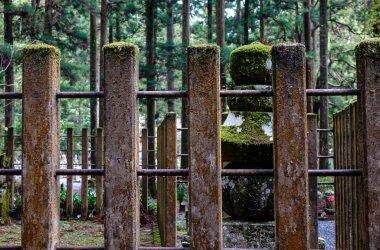 Tombstones at Okunoin Cemetery on Mt. Koya (Koyasan) in Wakayama, Japan.