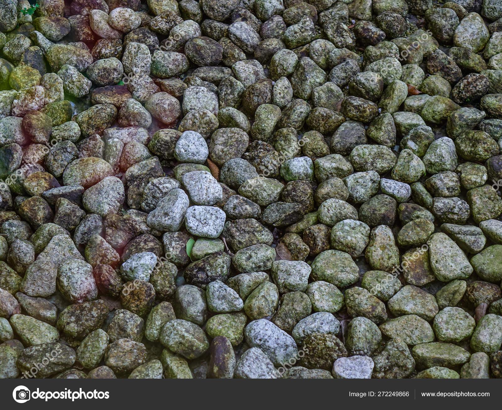 Jardin Mineral Zen Photo rocas en un pequeño jardín zen — fotos de stock