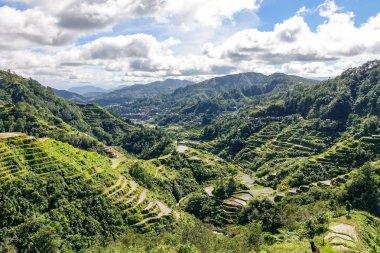Mountain scenery in Banaue, Philippines