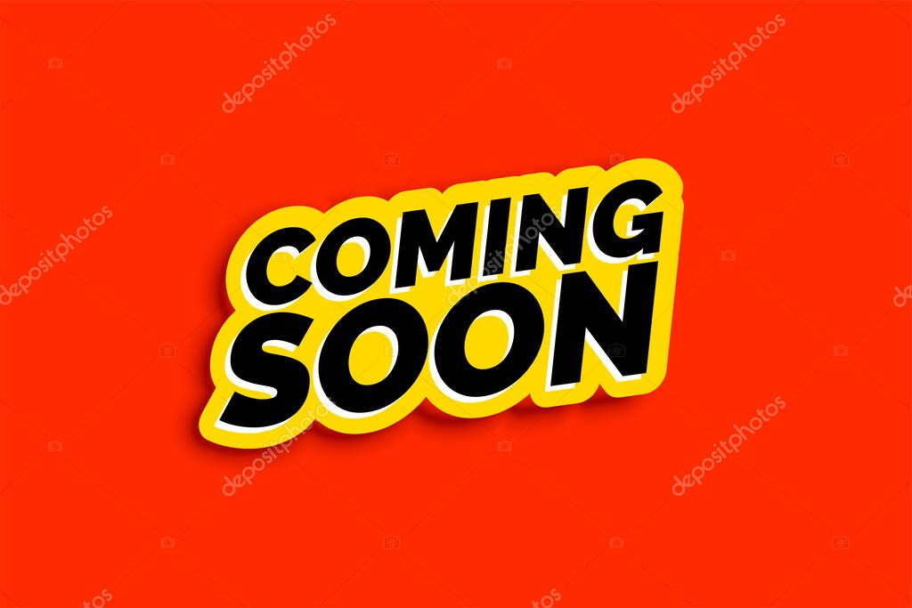 Coming Soon Background In Flat Color Style Premium Vector In Adobe Illustrator Ai Ai Format Encapsulated Postscript Eps Eps Format