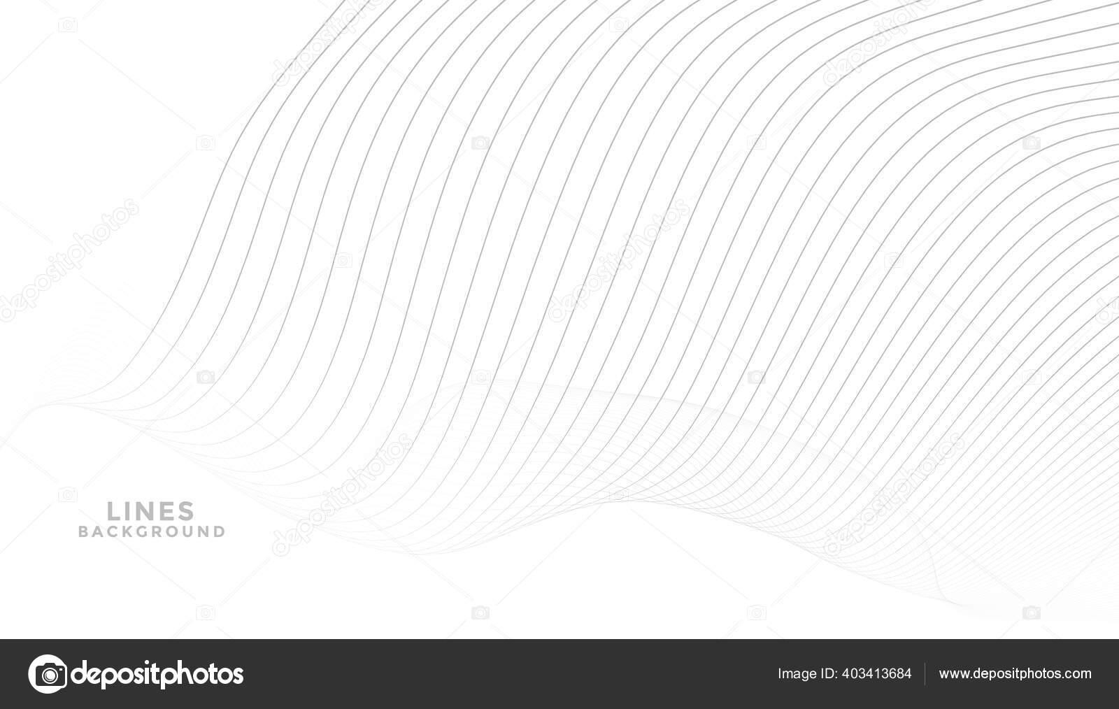 Latar Belakang Putih Elegan Dengan Desain Garis Abu Abu — Stok Vektor ©  StarLine #403413684