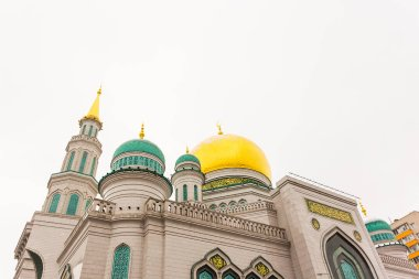 Moscow Cathedral mosque the main mosque of Moscow, one of the largest and highest mosques in Russia and Europe