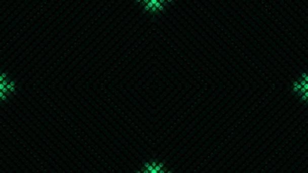 Animáció a villogó izzók a LED fal vagy projektor a színpadi fények. Animáció varrat nélküli hurkhoz.