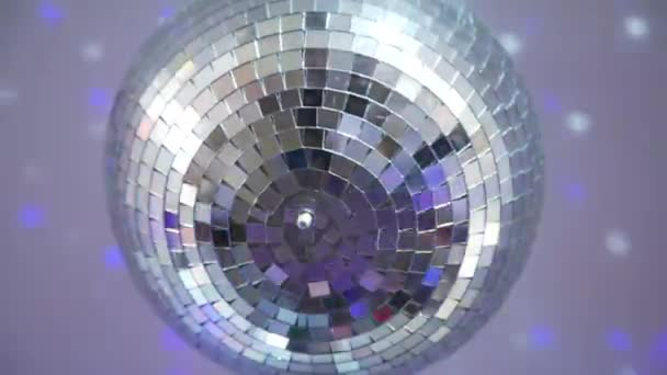 Close Up of Disco Ball at the Party