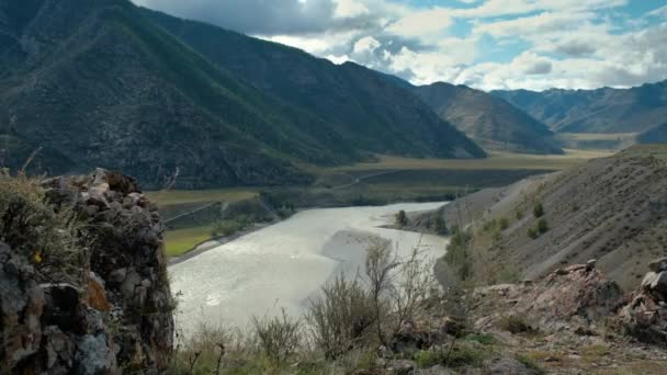 Amazing Landscape View of Altai Mountains