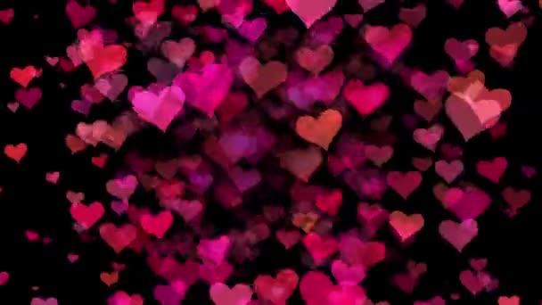 Valentinstag Romanze Herzen Hintergrund