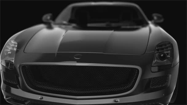 luxusní sportovní auto