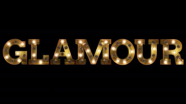 Villanykörte betű vontatás út pislogás aktion helyesírás a szó Glamour