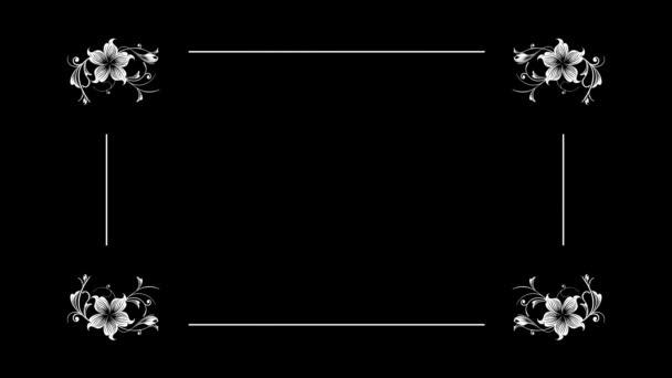 Régi Silent film Style szöveg keretben. Filmvetítő villogó háttér. A szöveg helye. Egy fájl két lehetősége. A film karcolásoktól és nem.