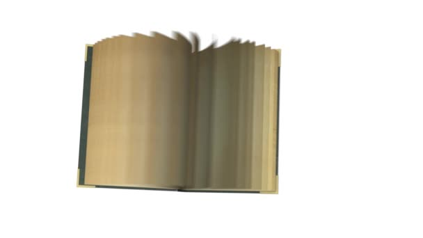 Staré knihy v aplikaci animace otevření přechodu Úvod