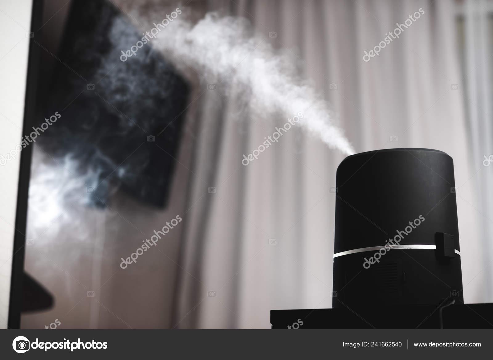 Der Dampf Aus Der Luftbefeuchter Nacht Kinderzimmer Viel ...