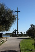 the Great Cross of St. Augustine Marks the Founding of Americas Oldest City