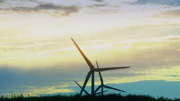 Wind energy power turbine. Clean and renewable electricity energy resources