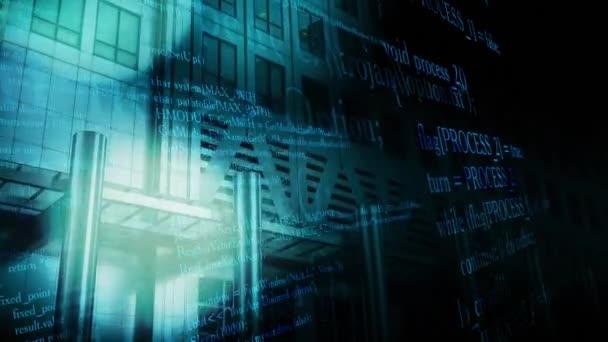 Cyber attacco usando spyware, concetto di crimine informatico