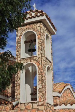 "Картина, постер, плакат, фотообои ""церковь на холме в протарасе, кипр "", артикул 311839314"
