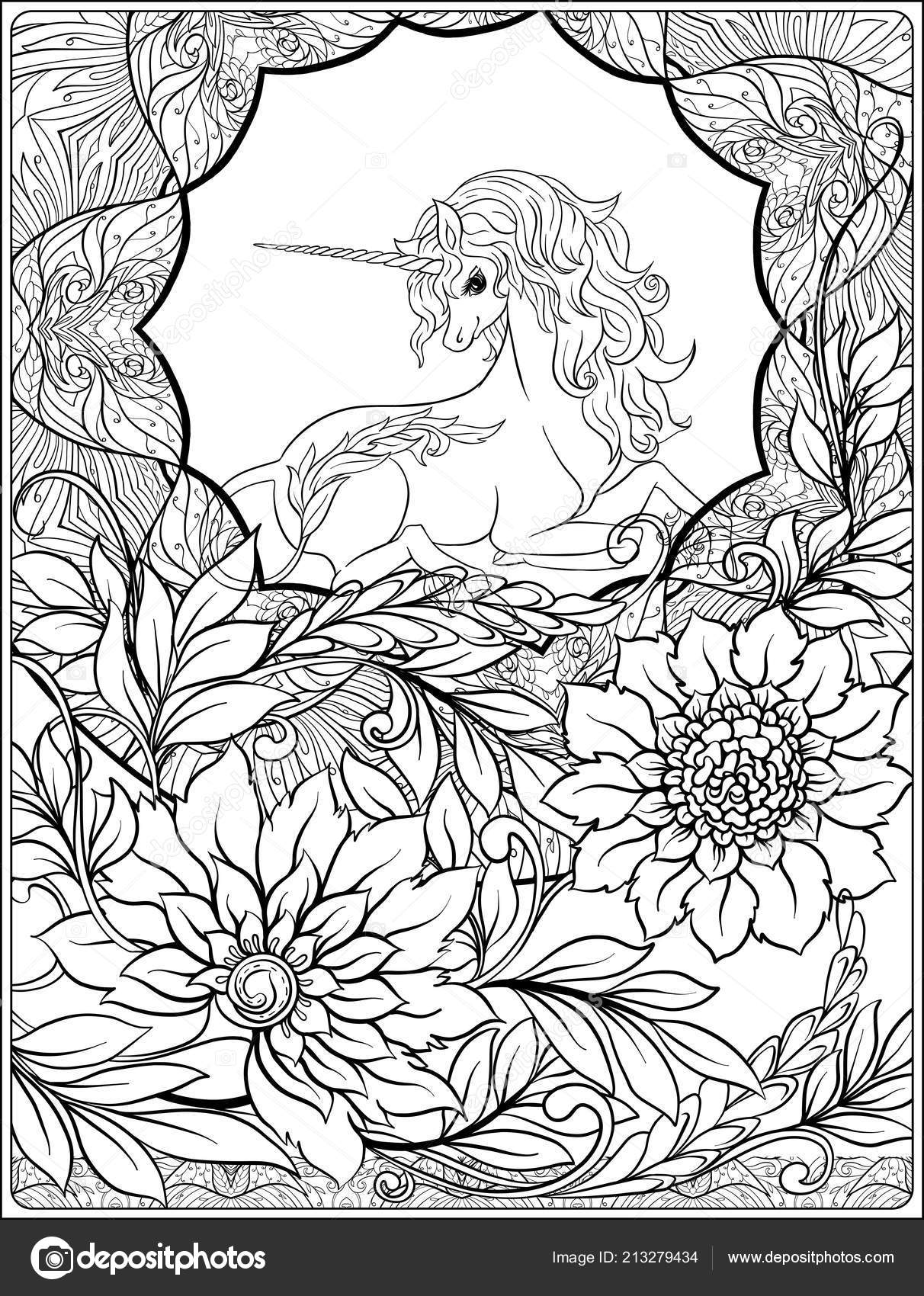 in art nouveau style vintage old retro style outline hand drawing good for coloring page for the adult coloring book vector by elenabesedina