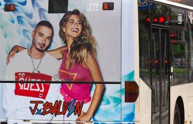 Fashion Bus Advertising - Bucharest
