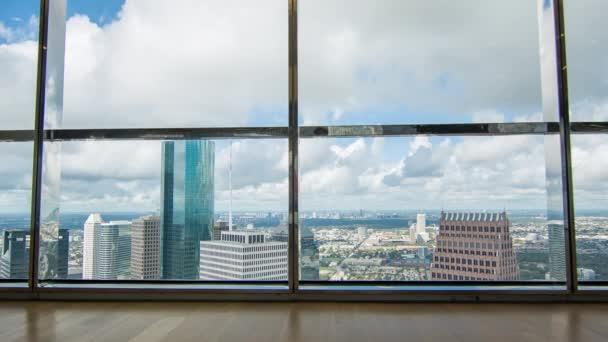 Pohled na galerii Houston TX Galleria viděn ze sálu JPMorgan Chase Tower