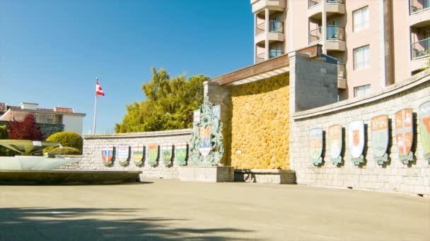 Victoria British Columbia Kanada konfederaci fontána památka historická turistická atrakce