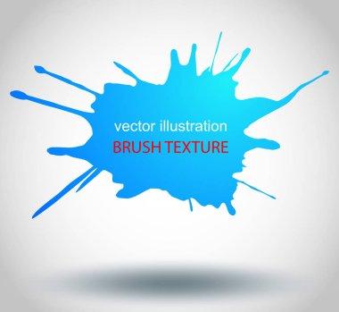 Paint splatter.vector illustration