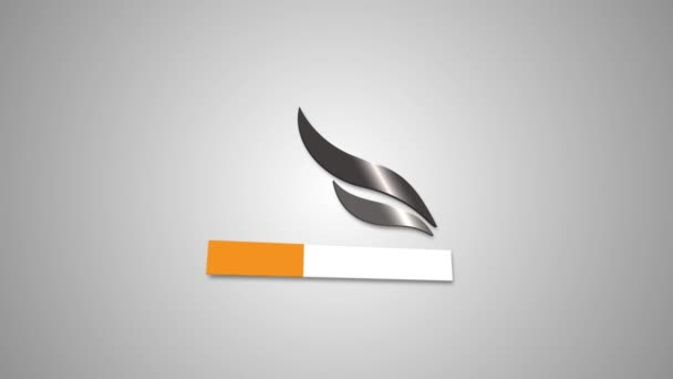 Cartoon Cigarette Vector art Animation in 4k on Alpha Channel Background Simple animation Picture Image Camera Photography Icon Photographer Sign