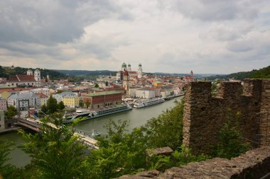 Passau, Germany  View in the historical city of Passau, Bavaria, Germany