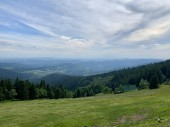 Giant mountains - view of the surrounding forest