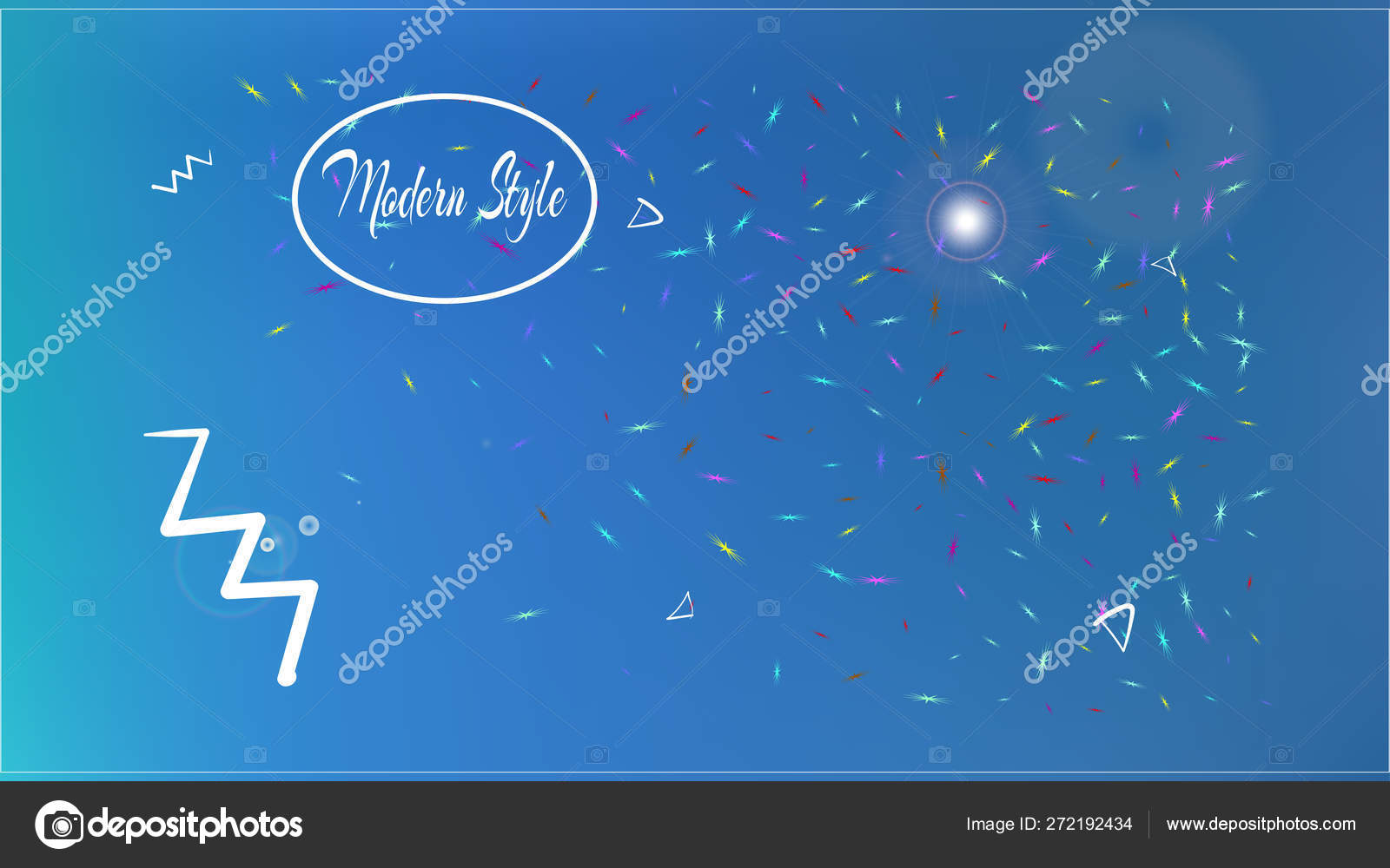 Minimal Abstract Space Background Picture Modern Vector