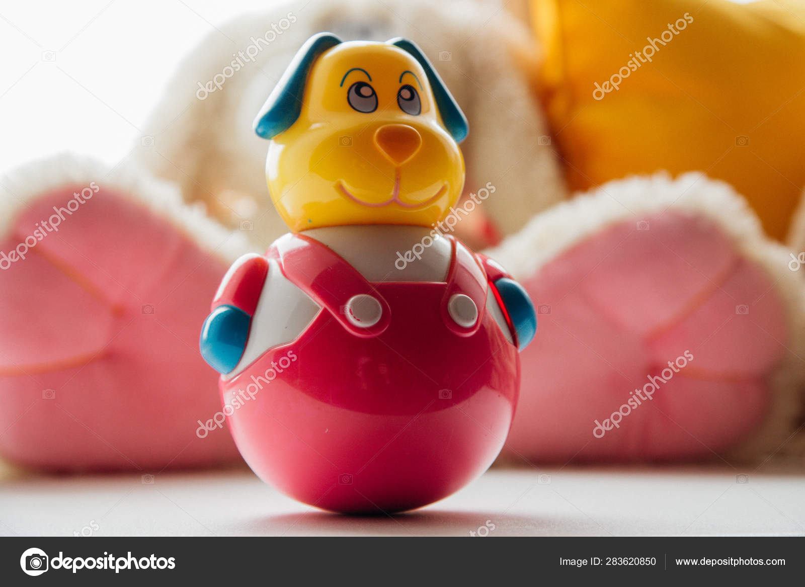 Old Vintage Children S Toys Roly Poly A Child S Toy Dog Subject From The Past Stock Photo Image By Annu1tochka 283620850