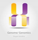 genom-elemzésen, genomika üzleti ikon