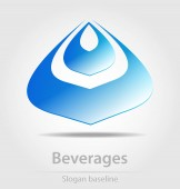 Beverage business icon