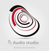 audio studio üzleti ikon