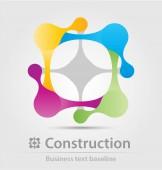 építési üzleti ikon