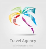 Travel agency business icon
