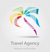 utazási iroda üzleti ikon