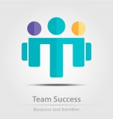 Team success business icon