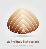Pralinen und Schokolade Business-Ikone