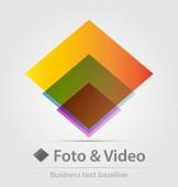 Foto és videó üzleti ikon
