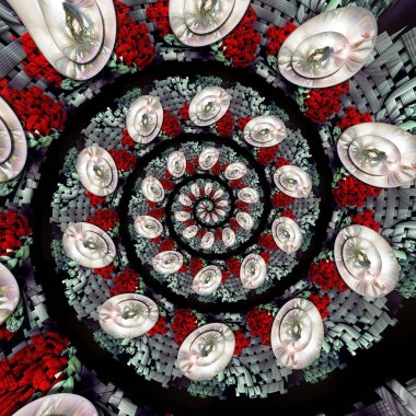 "Картина, постер, плакат, фотообои ""3d рендеринг магической спирали "", артикул 273876426"